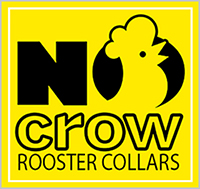 No Crow Rooster Collars Logo