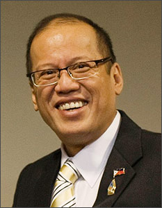Photo of Benigno C. Aquino III by the Government of Thailand, publshed in Wikipedia.